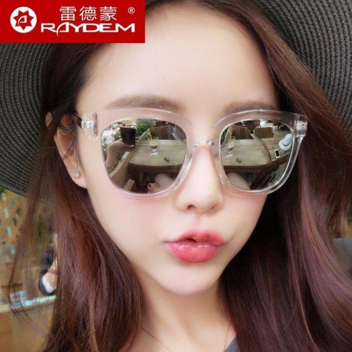 韓版太陽鏡女潮新款圓臉復古墨鏡男士偏光鏡明星個性開車眼鏡