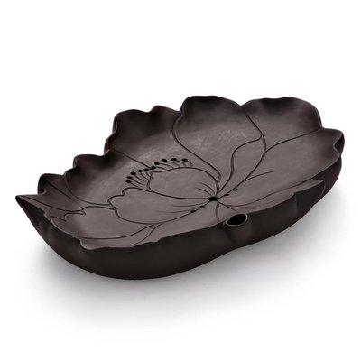 紫砂干泡茶盤家用簡約現代個性迷你客廳小號個人儲水式茶台托盤【全館免運】