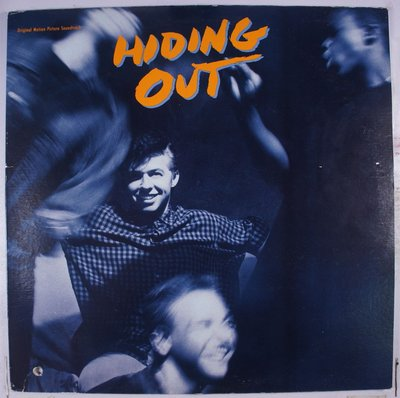 《二手加版黑膠》Hiding Out 原聲帶 收錄 Roy Orbison / k.d. lang Crying