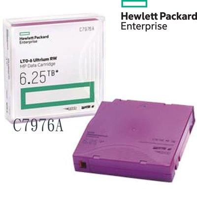 HP惠普 磁帶機LTO6 6.25TB 磁帶 Tape C7976A 全新品