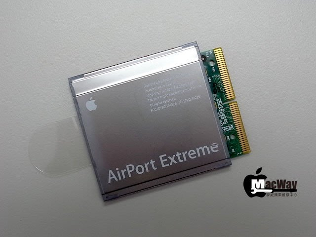 『售』麥威 Apple AirPort Extreme Card 適用Power Mac G5 /Power Book等