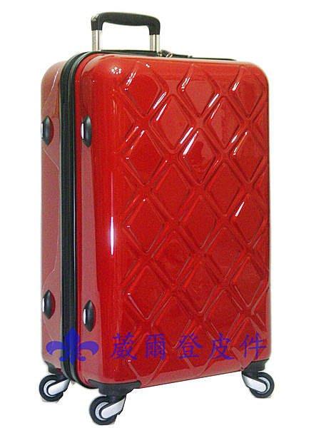 《 補貨中缺貨葳爾登》ECHOLAC愛可樂20吋高韌性摔不破旅行箱硬殼鏡面登機箱防水360度行李箱20吋EP10紅色