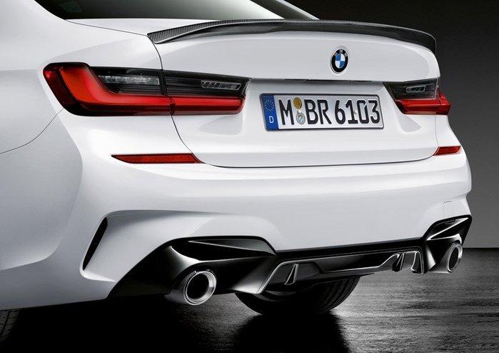 【樂駒】BMW G20 M Performance Diffuser 分流器 後下擾流 空力 外觀 精品