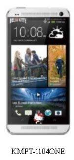 【出清】三麗鷗原廠授權,正版 Hello Kitty 彩繪螢幕保護貼,HTC ONE / M7 專用