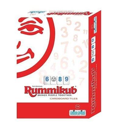 大安殿實體店面 Rummikub Cardboard Lite 拉密 外出型 簡易版 桌上遊戲 正版益智遊戲