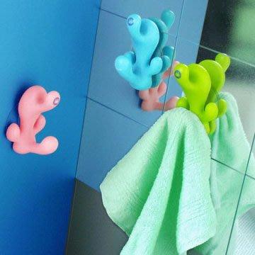 《買一送一最後出清》ZANS 可愛珊瑚毛巾勾勾! 趣味zakka增添海洋氣息!
