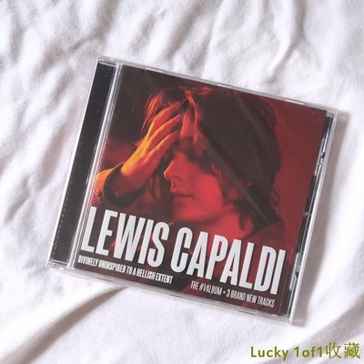 Lucky 1of1收藏Lewis Capaldi Divinely Uninspired To A Hellish Extent 改版CD