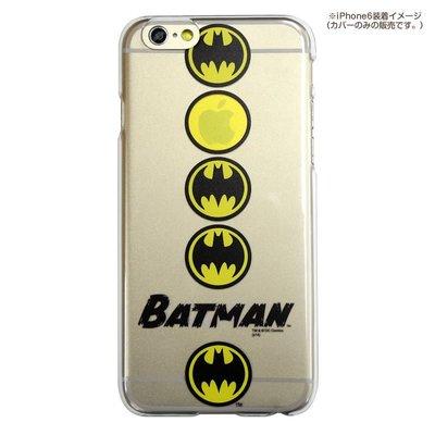 尼德斯Nydus~* 日本正版 DC 超級英雄 正義聯盟 蝙蝠俠 透明款 4.7吋 iPhone 6