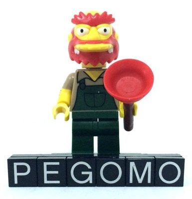 【痞哥毛】LEGO 樂高 71009 13 人偶 辛普森2代 Groundskeeper Willie