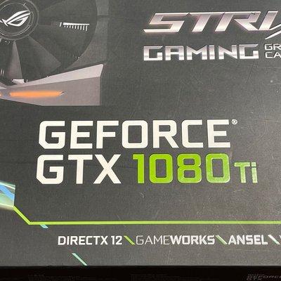 華碩 Asus ROG-STRIX-GTX1080TI-O11G-GAMING 1080ti o11g