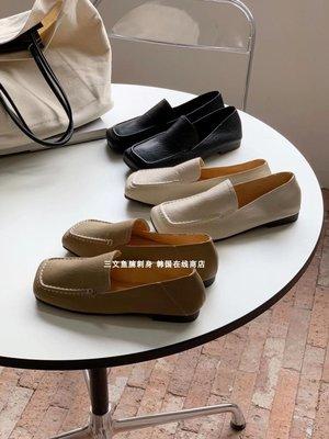 Tery正韓女鞋「CHIC」STUDIO   設計師氣質優雅 又溫柔的方頭車線平底單鞋