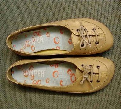 原價5980元 專櫃正品 camper  平底 綁帶 娃娃鞋