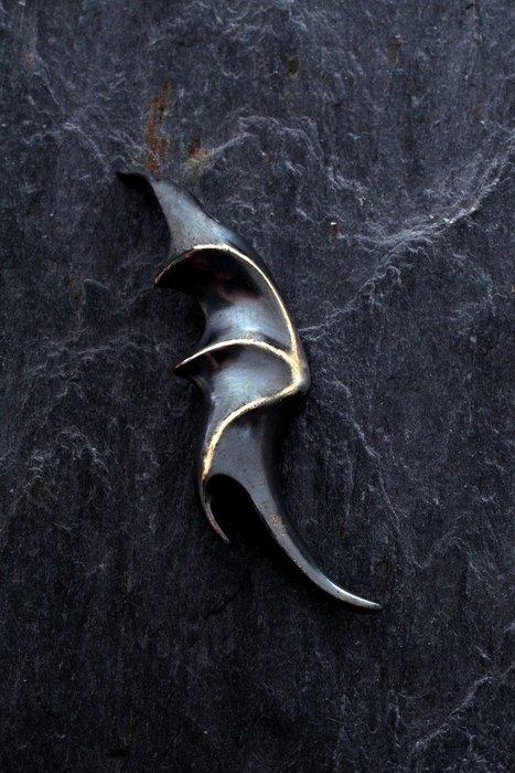 奧嘉精品工作室 K's Collection 925純銀飾 立體天使&惡魔 翅膀項鍊墜飾 和平鴿蝙蝠 情侶對墜