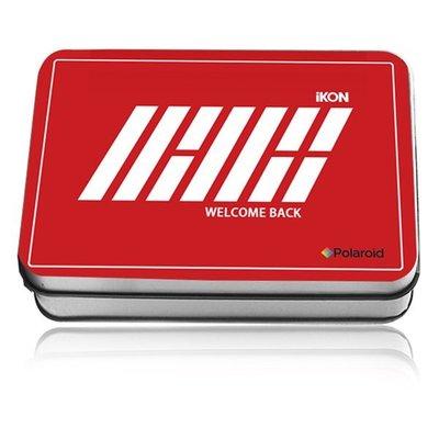 ikon WELCOME BACK 周邊紀念品高清照片 LOMO30張 獨家贈麻繩 +小夾+彩印收藏鐵盒