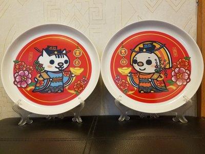 台灣Open小將2010裝飾用盤一套