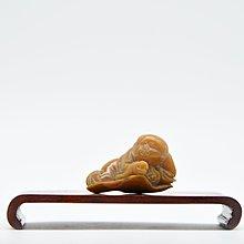 【聽竹軒】壽山雕刻小沙彌