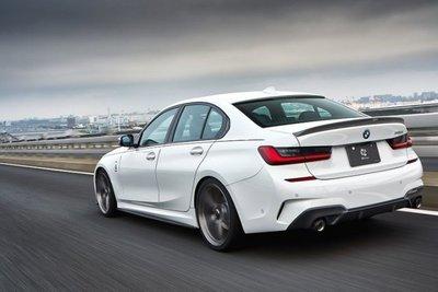 ✽顯閣商行✽日本 3D design BMW G20 碳纖維尾翼 鴨尾 空力套件 改裝 M340i