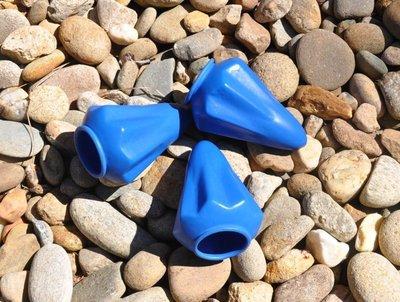 【angel 精品館 】Pocket Shot 強力PRO藍色橡皮 三入包裝 / 不含彈弓