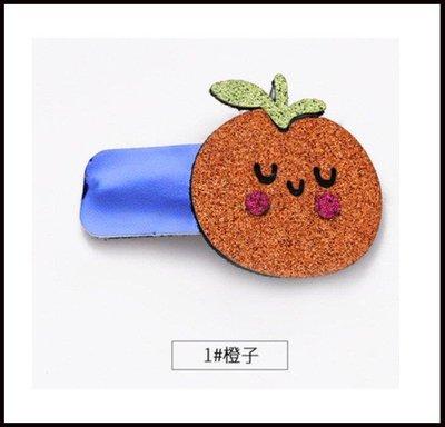 哆啦本鋪 卡通可愛水果髮夾小女孩髮卡發飾頭飾BB夾女童兒童韓國女生公主女D655