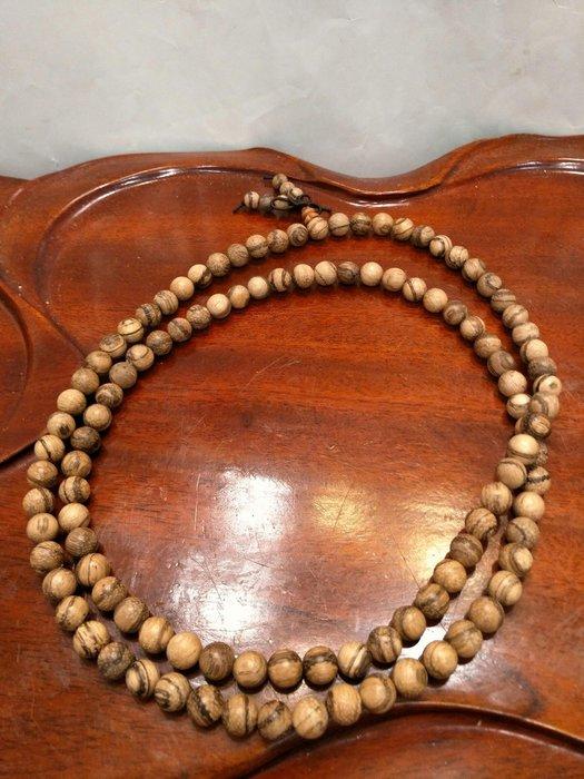 ※—緣堂※虎斑花其楠直徑8mmx108顆唸珠,僅此—結緣品,出清俗俗賣。