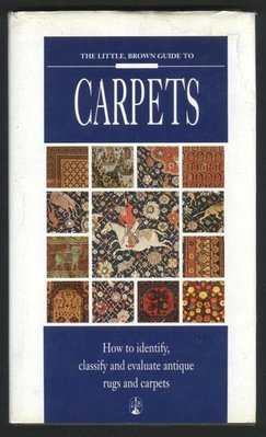 ///李仔糖舊書*1992年英文原版CARPETS地毯圖鑑-彩色印刷-精裝