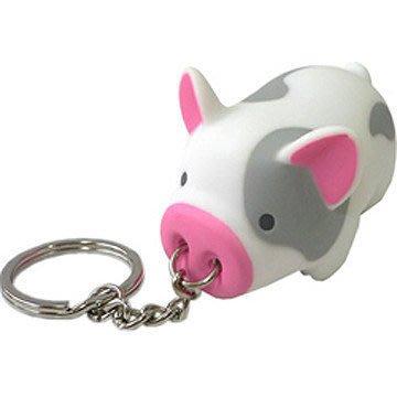 破盤出清! Piggy鑰匙圈 (迷彩小白豬) ! 可愛小豬帶著走~ 超值出清價