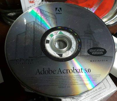 Adobe Acrobat 5.0--FOR MAC ~二手 新北市