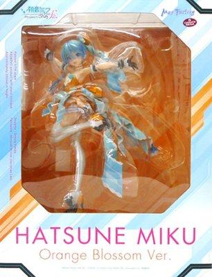 日本正版 Max Factory MF 初音未來 Orange Blossom 1/7 公仔 模型 日本代購