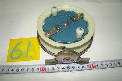 采潔 日本二手外匯釣具  富士輪 43Fuji  前打輪 牛車輪 日本製  二手釣具 釣竿 捲線器 編號K61