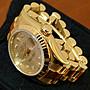 衣架二手名牌(南西店)【真品ROLEX 勞力士 Datejust 玫瑰金 179175 鑲鑽時標錶】近全新(12342)