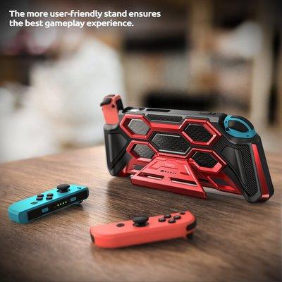 KINGCASE (現貨) Mumba Nintendo Switch  任天堂NS保護殼 帶立架手柄可取包手柄