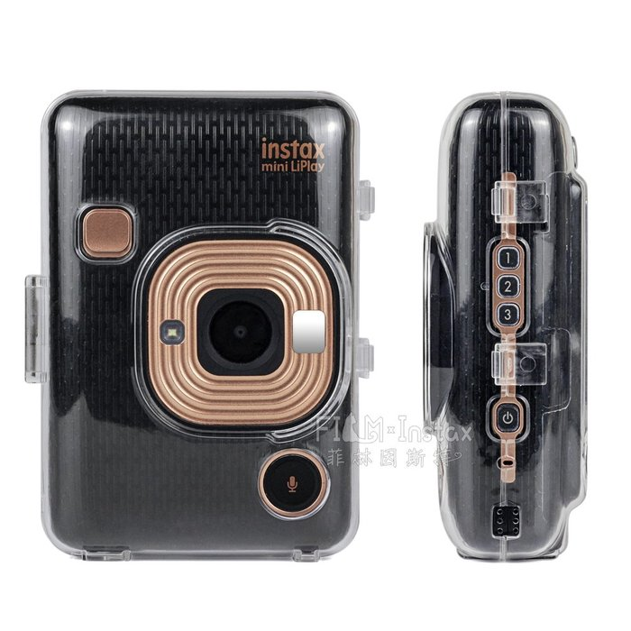 CAIUL【 mini LiPlay 水晶殼 】Fujifilm instax HM1 數位拍立得 專用 菲林因斯特