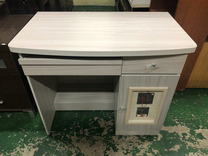 非凡二手家具 全新幸運3尺白橡木電腦桌*書桌*辦公桌*寫字桌*木桌*會計桌*洽談桌*工作桌*事務桌