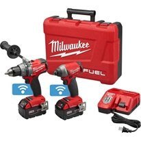 全新美國平行輸入 Milwaukee 米沃奇 無刷 2796 藍芽 雙機 XC5.0電池*2 充電器 工具箱 五年保固