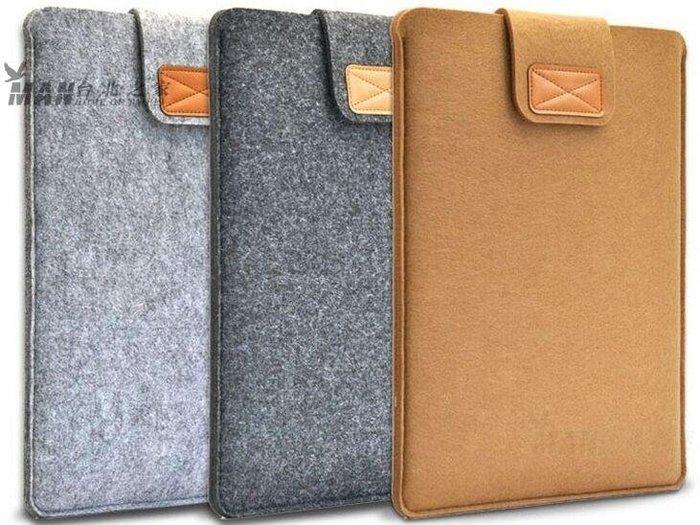 毛氈布材料平板電腦包 iPad內膽包 電腦套 7/8/10/11/13/15寸