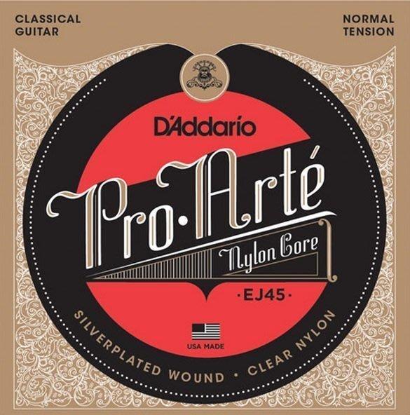 【六絃樂器】全新美國 Daddario D'addario EJ45 古典吉他弦 / 現貨特價