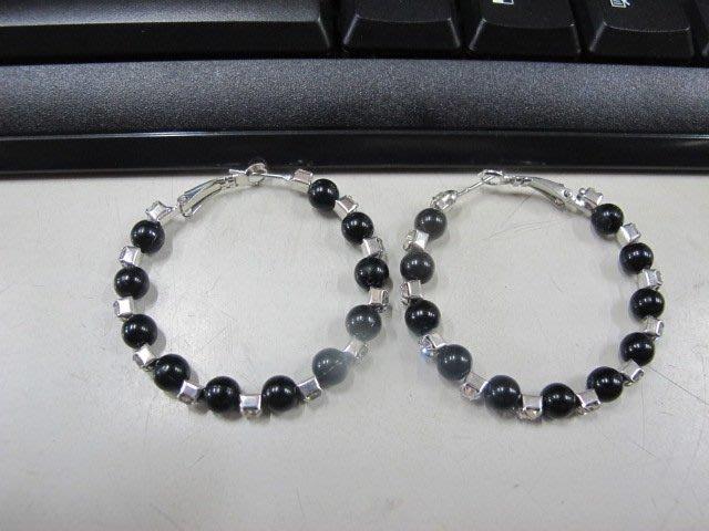 二手舖 NO.4543 時尚造型耳環 耳針 耳鉤 便宜賣 首飾飾品