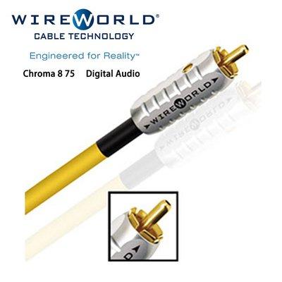 Wireworld 美國 Chroma 8 75Ω Digital Audio 1M (公司貨免運)