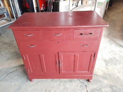 彰化二手貨中心(原線東路二手貨) ----- 早期收藏檜木斗櫃  檜木置物櫃