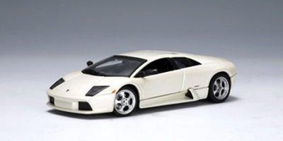 AUTOart廠牌 1:43 LAMBORGHINI MURCIELAGO 2001 (BALLOON WHITE) 藍寶堅尼【台中AUTO勁車】