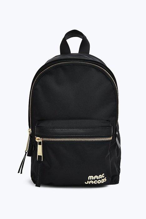 Coco 小舖 MARC JACOBS Trek Pack Medium Backpack 黑色尼龍後背包