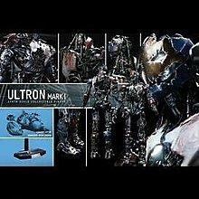 Hot Toys MMS292 Avengers Age of Ultron AOU 復仇者聯盟 Ultron Mark I  1/6 figure
