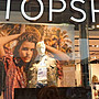 英國TOPSHOP 羊皮/銀鏈包