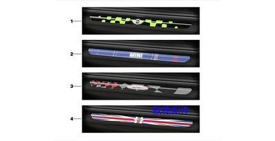 【歐德精品】德國原廠 MINI Cooper正廠精品MINI LED迎賓踏板F55.F54.F56
