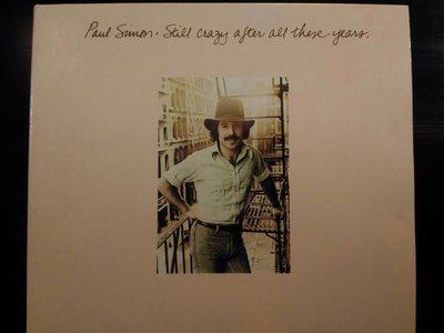 Paul Simon ~ Still Crazy After All These Years 等四張專輯。