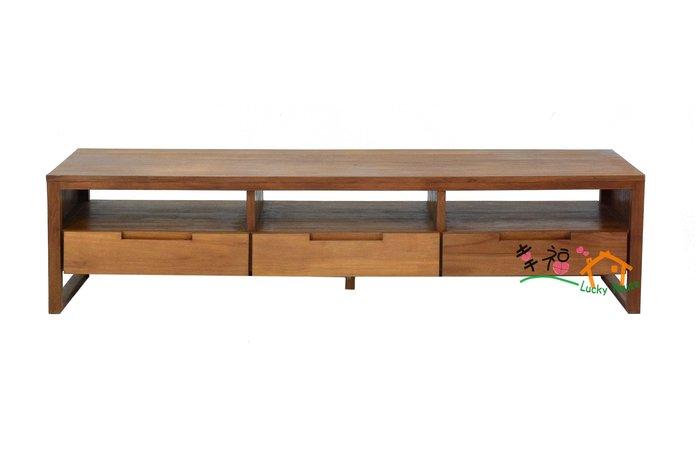 幸福家傢俱 現代感柚木電視櫃 ( DEVON TV CABINET ) 柚木傢俱 實木傢俱