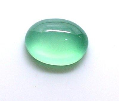 (瑪奇亞朵的珠寶世界) 玻璃種綠色 玉隨1.26CT克拉大顆
