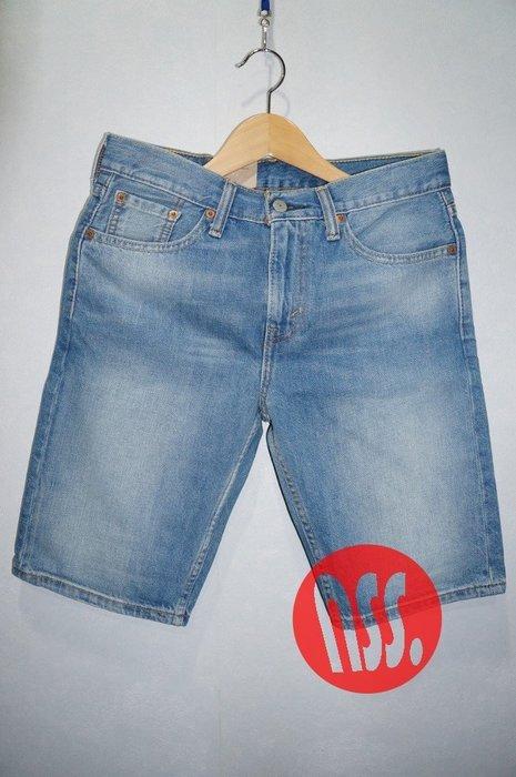 特價「NSS』LEVI'S LEVIS 508 JAPAN 31858 0093 水洗 牛仔短褲 w28