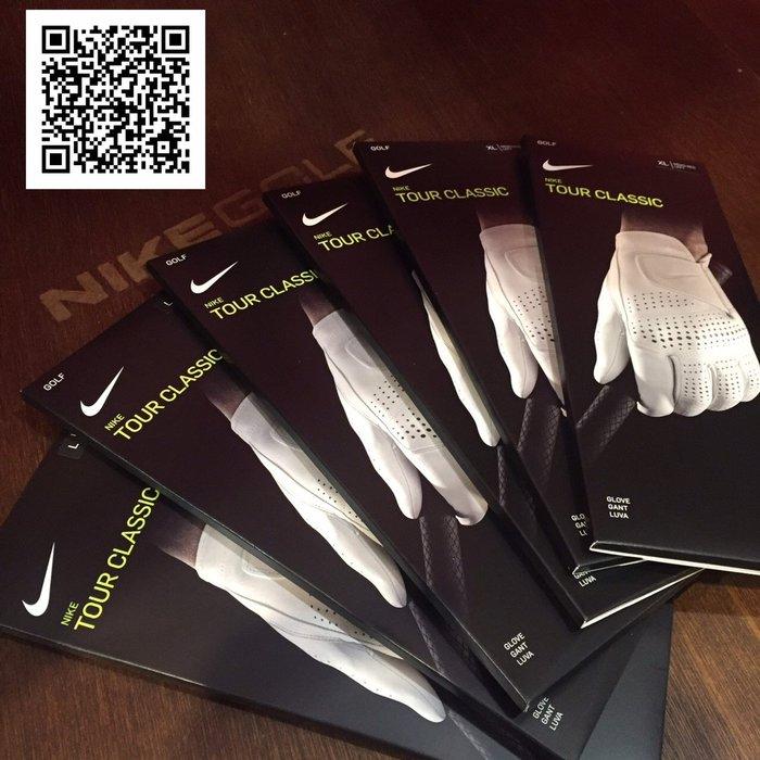 全新 Nike Golf  TOUR CLASSIC 頂級小羊皮 高爾夫手套 絕佳觸感 更高的摩擦係數 (左手單支)
