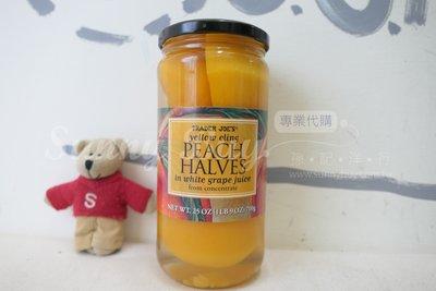 【Sunny Buy】◎預購◎ Trader Joe's白葡萄汁醃製水蜜桃 700g 起司蛋糕 水果罐頭
